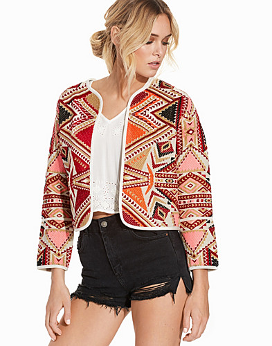 Embroidered Jacquard Jacket (2226272385)