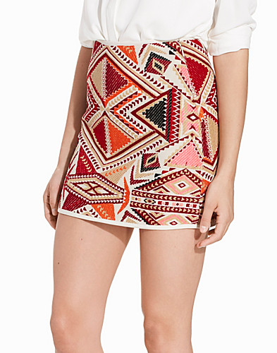 Embroidered Jacquard Skirt (2215365975)