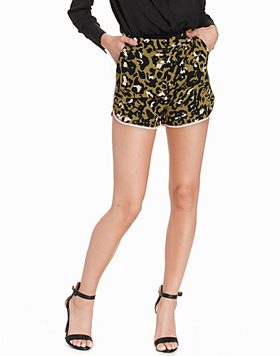 Animal Print Runner Shorts (2215365985)