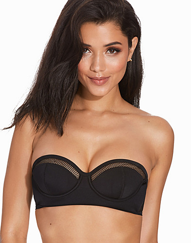 Mesh Cup Bikini Top By Kendall Kylie at Topshop (2273635415)