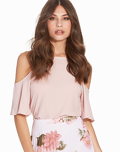 Beige Shoulder Top (2238371089)