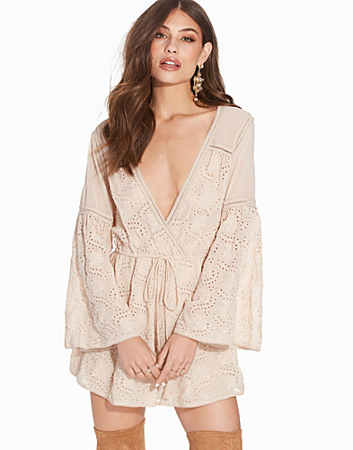 Embroidered Broderie Playsuit (2238371109)