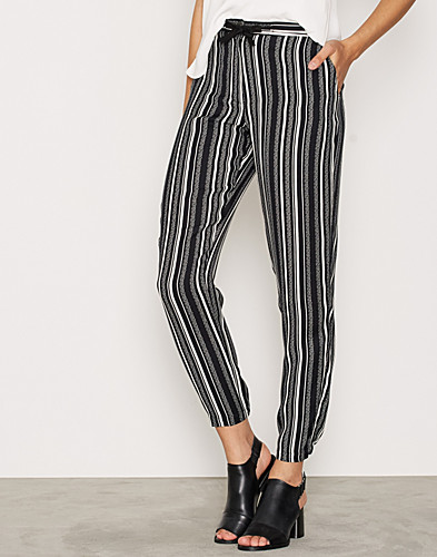 Striped Tapered Trousers (2273635455)