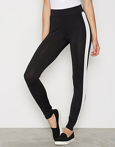 Side Stripe Panelled Leggings (2273635457)