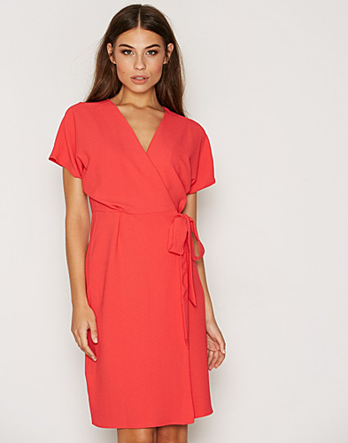 Belted Wrap Dress (2306191645)