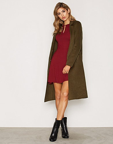 Topshop - Wool Butted Seam Coat