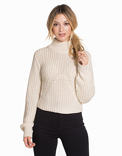 Cocoon Sleeve Knitted Top