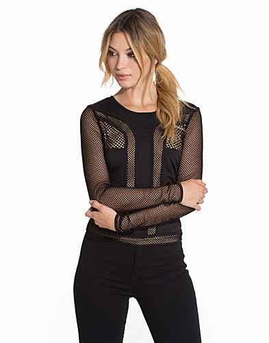 Dont Mesh With Me Top (2089227715)