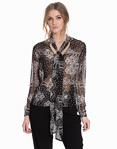 Nelly.com SE - Printed Bow Blouse 299.00