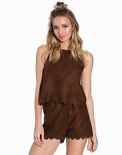 Fake It Suede Top (2185651291)