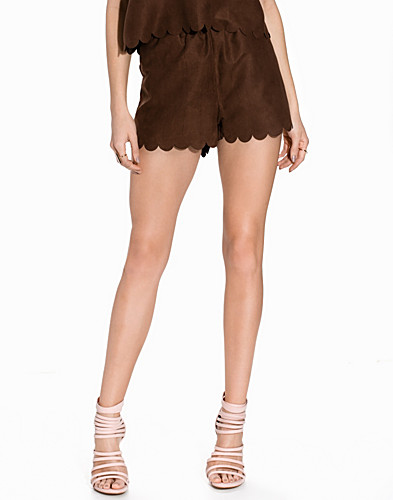 Fake It Suede Shorts (2185651293)