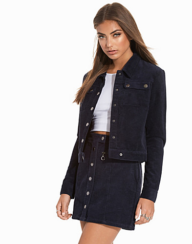 Cropped Corduroy Jacket (2263512509)
