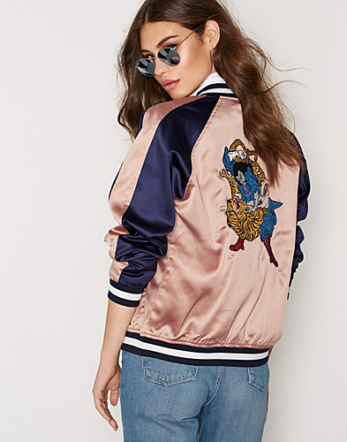 Embroidered Bomber Jacket (2300131915)