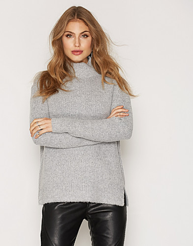 Soft Rib Knit Sweater (2421037159)