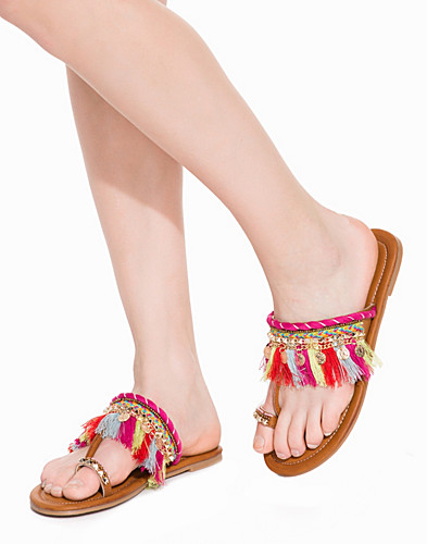 Colorful Tassel Sandal (2207550803)