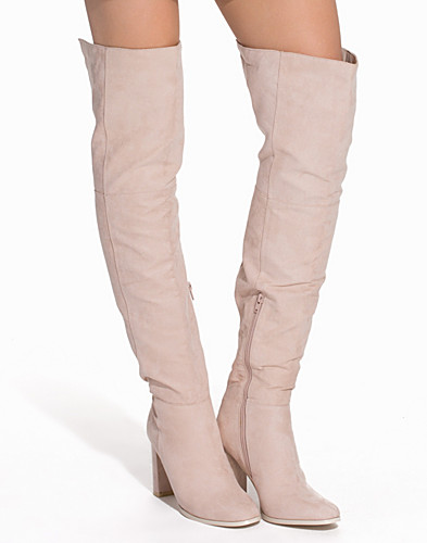 Over Knee Block Heel Boot (2093223231)
