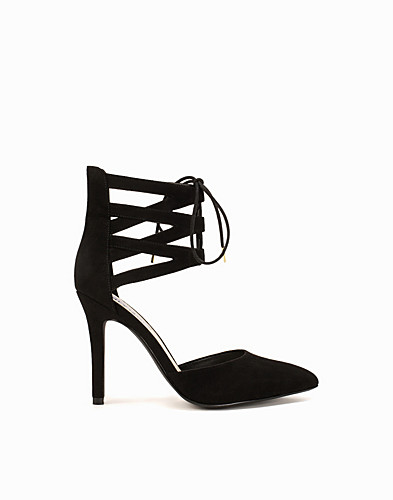 Lace Up Pointy Pump (2148993253)
