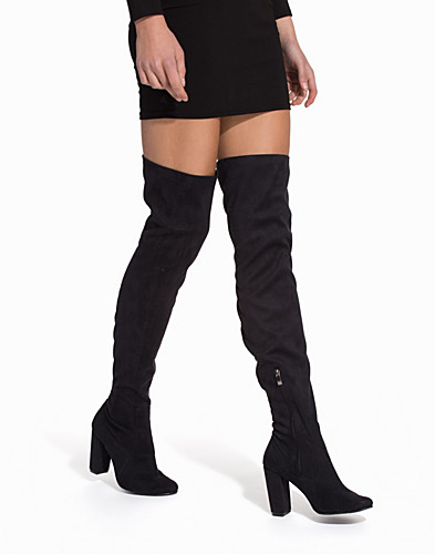 Block Heel Thigh Boot (2069146567)