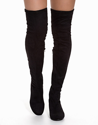 Low Heel Thigh High Boot thumbnail