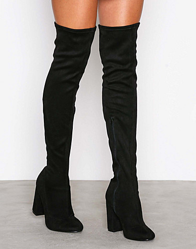 Block Heel Thigh Boot (2291647093)
