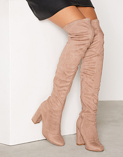 Block Heel Thigh Boot (2288378491)