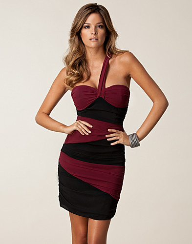 Assymetric Ruched Dress