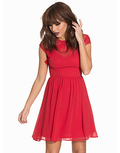 Lace Cap Sleeve Skater (2071158031)