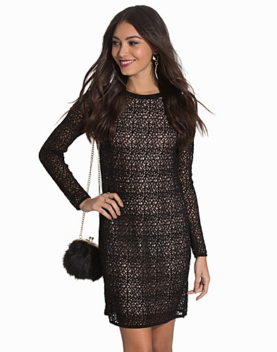 Benoite Lace Knit Dress (2075795273)