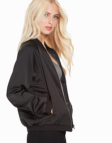 Satin Bomber Jacket (2251728771)
