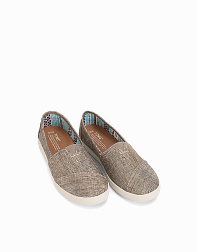 Metallic Linen Slip On (2215366049)