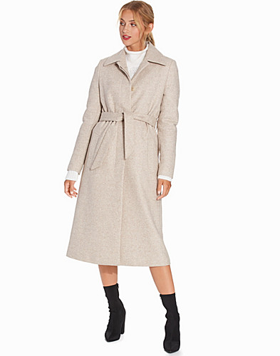 Iza Long Wool Coat (2262282431)