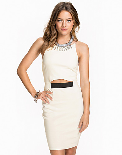 Spagetti Strap High Neck Dress (1933945877)