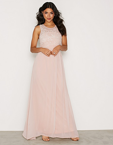 Embroided Chiffon Maxi Dress (2157693931)
