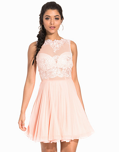 Sleeveless Lace Skater Dress (2163310565)