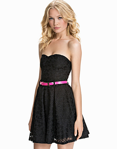 Bandeau Crochet Lace Dress (1791596729)