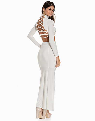 Criss Cross Top Fishtail Maxi Skirt (2148993009)