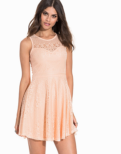 Sweetheart Paisley Lace Skater Dress (2200185631)