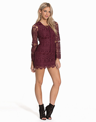 Lace Up Dress (2070494609)