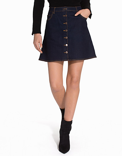 A Line Denim Skirt (2115878993)