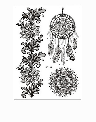 Henna Tattoo 2 pack (2185651323)