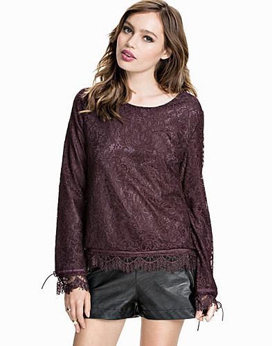 Nelly.com SE - Lace On Lace Blouse 299.00