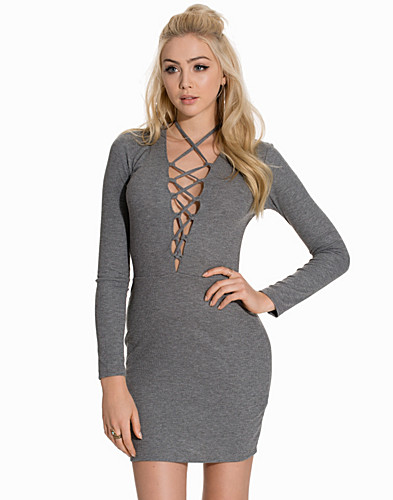 Lace Up Dress (2121613511)
