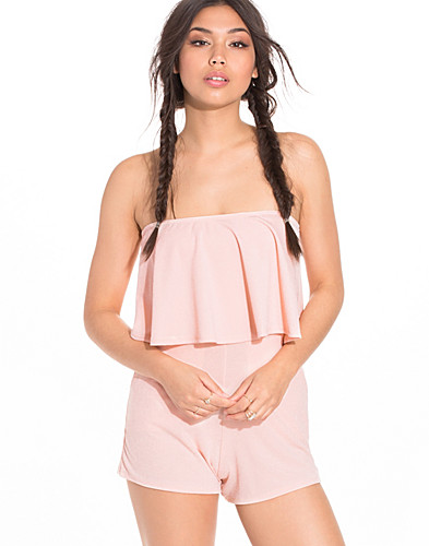 Crepe Frill Playsuit (2196407813)