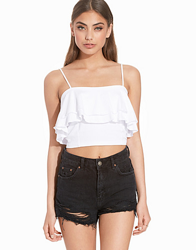 Frill Layer Crop Top (2207550883)