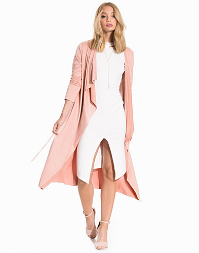 Suede Looking Long Trench (2196407815)