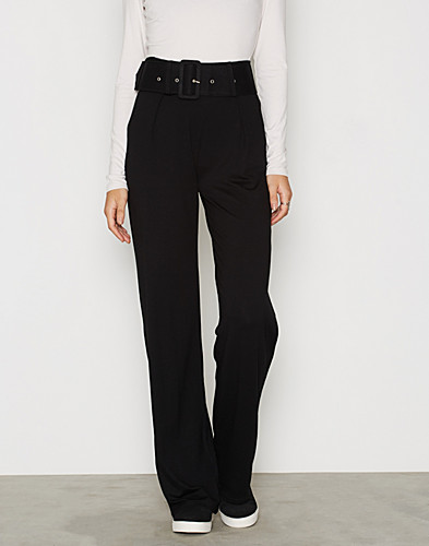 Belted Flare Pants (2297490813)