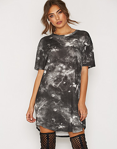 Washed Out Tee Dress (2293526733)