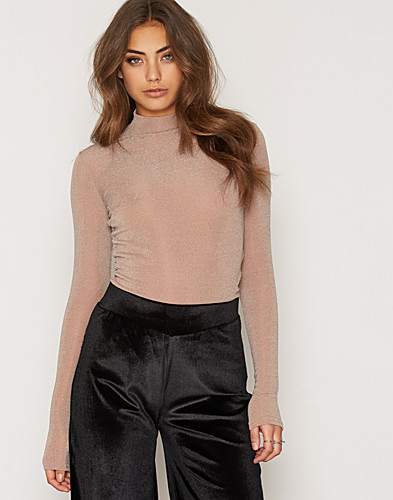 NLY Trend - Sparkling Polo Top