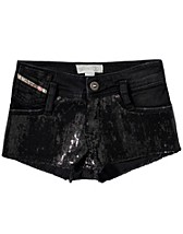 Housut & shortsit  , Platic Shorts , Diesel - NELLY.COM