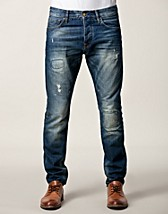 Jeans , Ralston On The Knees , Scotch And Soda Amsterdam Blauw - NELLY.COM